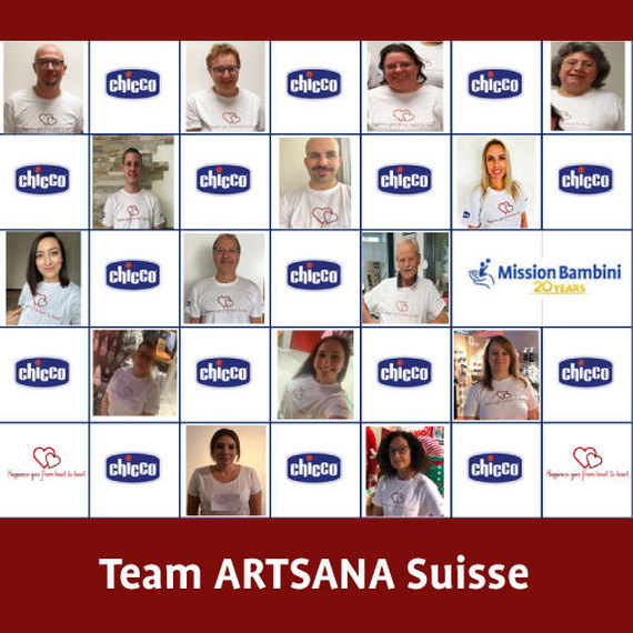 #FROMheartTOheart - Team Suisse