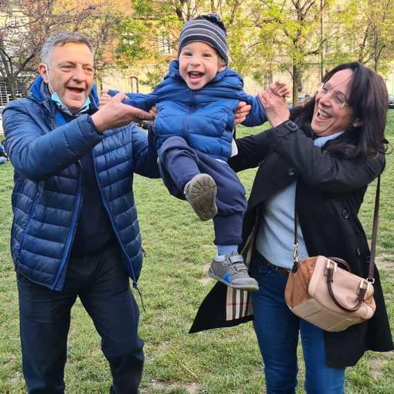 Antonella e Leonardo per Mission Bambini
