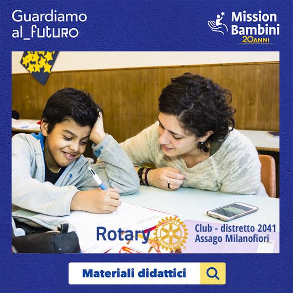 Rotary Club Assago Milanofiori per Guardiamo al_futuro